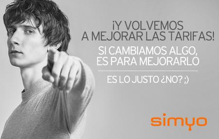 Simyo incrementa los datos de la mayoría de sus tarifas de manera gratuita y marca nuevo máximo de 40 GB