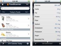 Cinco aplicaciones para iPhone con las que podemos mejorar la dieta