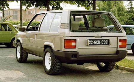 Renault SUV gandini
