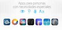 Apps para personas con necesidades especiales. El éxito de iOS, la variedad de la App Store