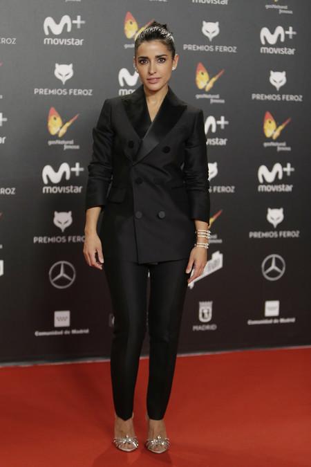 premios feroz alfombra roja look estilismo outfit Inma Cuesta
