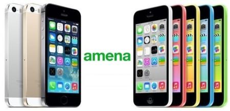 Precios iPhone 5C con Amena