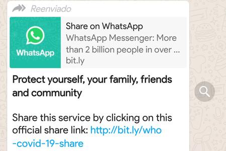 WhatsApp contra los bulos: añade un botón de búsqueda en los mensajes más reenviados
