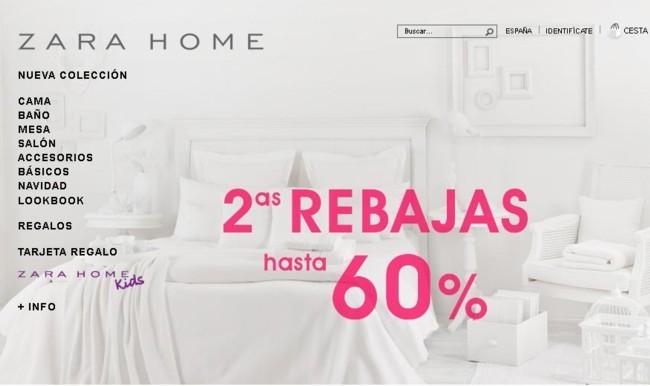 Zara Home segundas rebajas invierno 2013