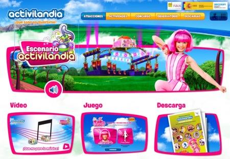Activilandia, un parque temático virtual donde lo divertido es sano
