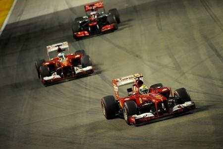 Ferrari admite que la perdida de rendimiento no es sólo por los neumáticos