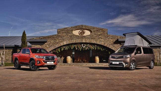 Desde furgonetas camper hasta vehículos de trabajo a medida: Así es el programa Toyota Se Adapta