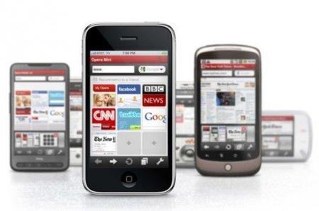 Opera Mini en smartphones