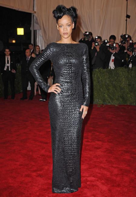 Rihanna look met