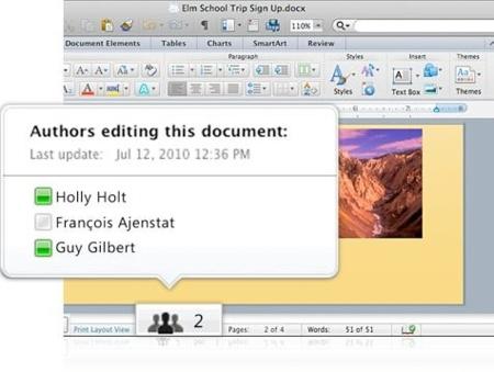 Microsoft actualiza Office 2011 para Mac al Service Pack 2 integrándolo más con OS X Lion