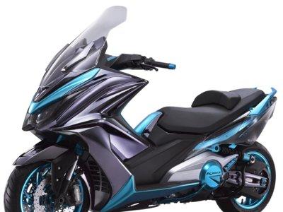 KYMCO presenta la K50 Concept: la anti T-MAX