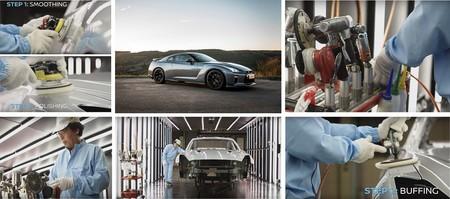 Con este video, Nissan te muestra cómo se pule artesanalmente la carrocería del GT-R