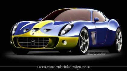 Ferrari 599 GTO Mugello