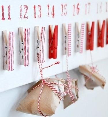 9 Calendarios de Adviento DIY ¡Se nos echa el tiempo encima!