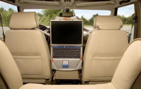 Correas para convertir tu portatil en un DVD para el coche