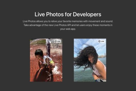 Las Live Photos también en la web, Apple presenta una API oficial para poder reproducirlas en el navegador