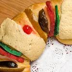 Rosca de Reyes casera. Receta tradicional mexicana
