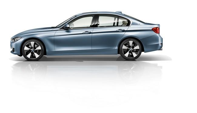 BMW ActiveHybrid 3 perfil