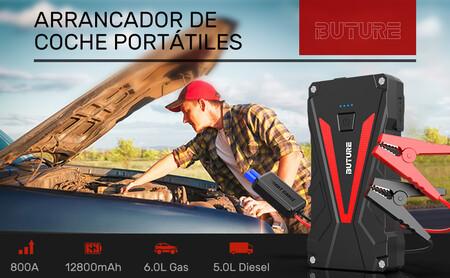 El arrancador de coche portátil más vendido de Amazon te salvará el día si te quedas sin batería y hoy lo tienes por 42 euros con este cupón