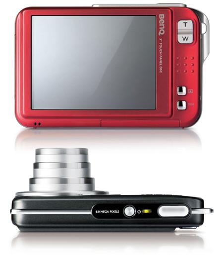 BenQ T850, nueva compacta ultradelgada y con pantalla táctil