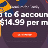 Spotify baja el precio de su suscripción familiar para ponerse a la par de Apple Music