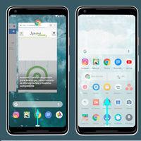 Los gestos de la multitarea de Android P forman parte del launcher de Google ¿serán exclusivos de los Pixel y Android One?