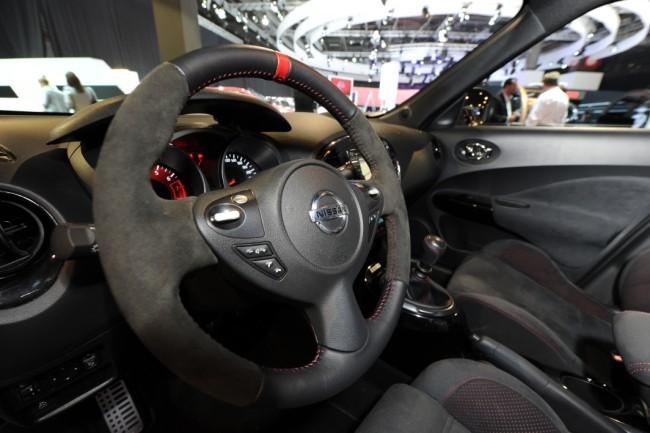 Interior Nissan Juke Nismo