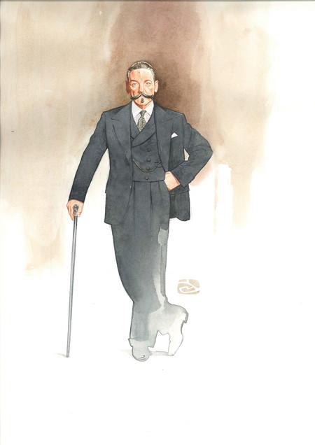 Motoe Dw Watercolours Poirot