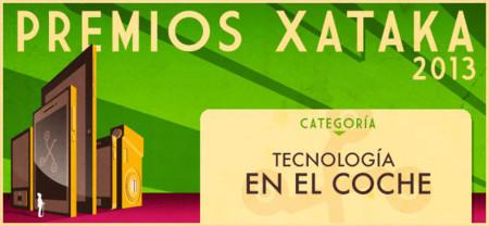 Mejor tecnología en el coche, vota en los Premios Xataka 2013