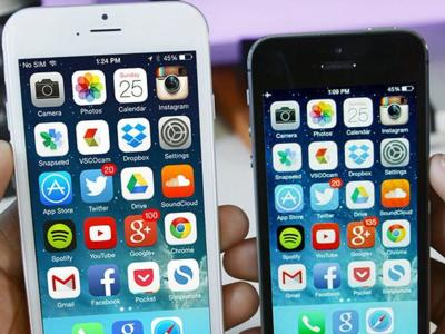 Comparativa de velocidad LTE entre el iPhone 5s y el iPhone 6