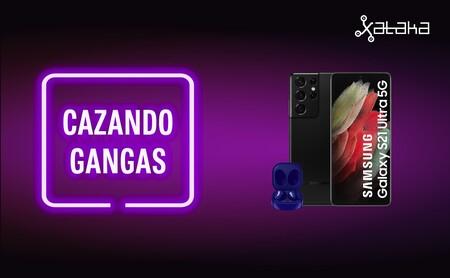 Samsung Galaxy S21 Ultra 5G más barato y con regalo y 22 smart TV 4K a precio de escándalo: Cazando Gangas