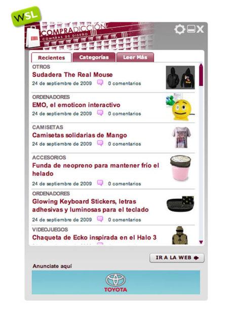 Compradicción y todo WeblogsSL en tu escritorio