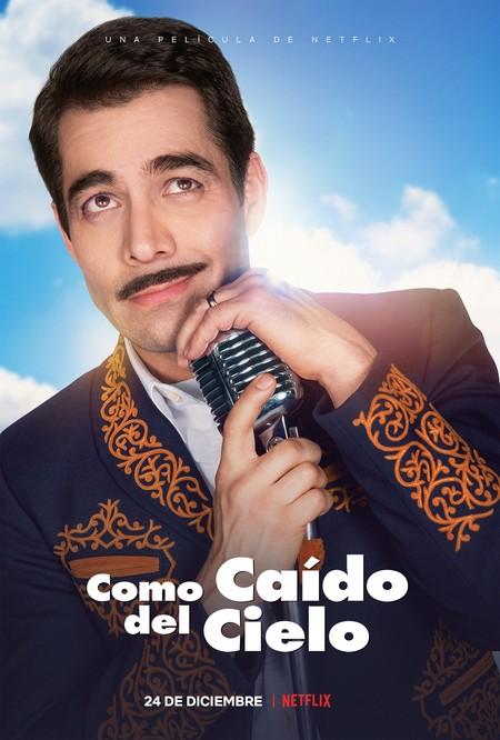 Como Caido Del Cielo Omar Chaparro Pedro Infanta Netflix 24 Diciembre 2019