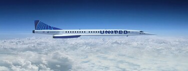 United Airlines promete aviones supersónicos para 2029: volarán de Londres a Nueva York en menos de cuatro horas