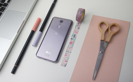 LG Q7, análisis: un móvil deslumbrante, pero sólo por fuera