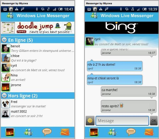live-messenger-android