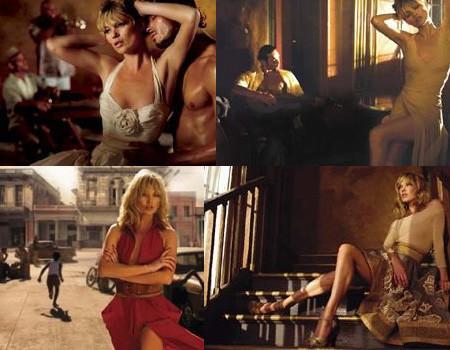 Más imágenes de Kate Moss para Donna Karan