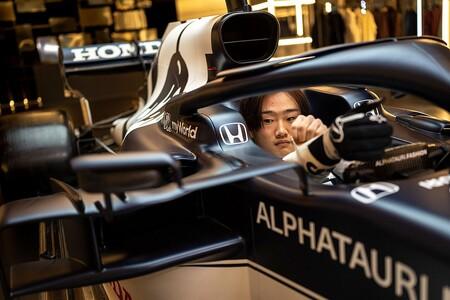 Tsunoda Alpha Tauri F1 2021