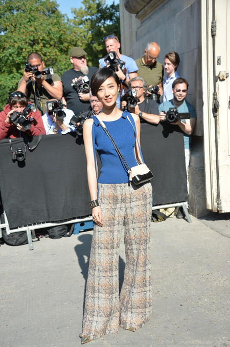 front row chanel alta costura Kwai Lun-Mei