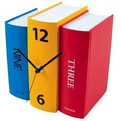 Reloj con forma de libro