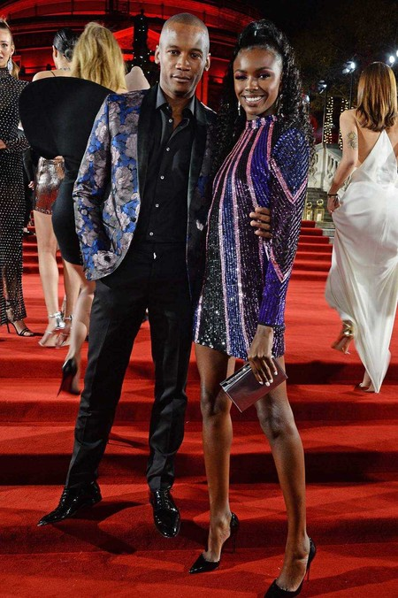 Eric Underwood Alfombra Roja Red Carpet British Fashion Awards 2018