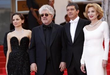 """El estreno de """"La piel que habito"""" en Cannes se ve en blanco y negro"""