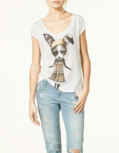 Zara camiseta