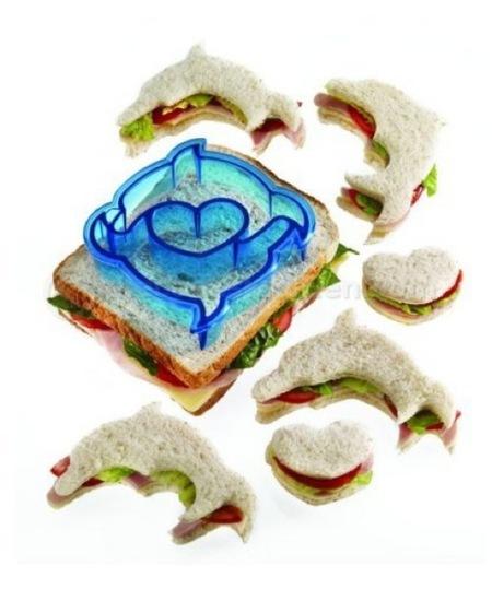 Moldes para sandwiches de delfines