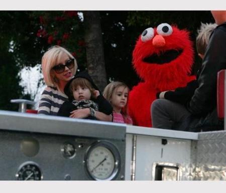 Al hijo de Christina Aguilera le da miedo Coco (que no el Coco)