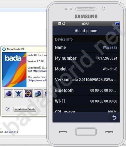 Samsung Wave 725 con bada 2.0 y tecnología NFC, se filtra lo nuevo de Samsung