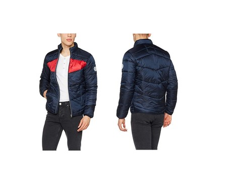 La chaqueta de Jack & Jones Jorzoom Light Puffer Jacket está rebajada a 31,16 euros en Amazon