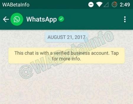 WhatsApp empieza a verificar perfiles empresariales como parte de su plan de monetización