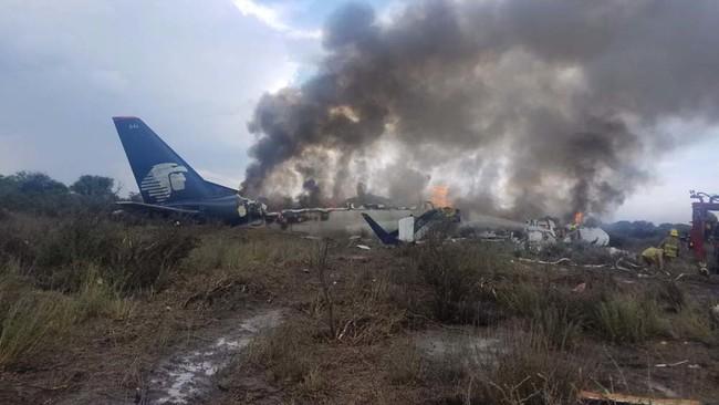 Lo que sabemos del accidente de una aeronave de Aeroméxico en Durango