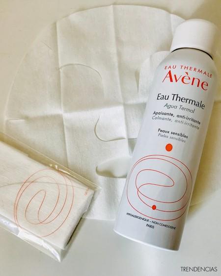 kit calmante de agua termal de Avène